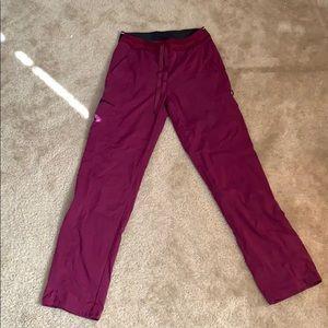 Grey's Anatomy scrub pants xs